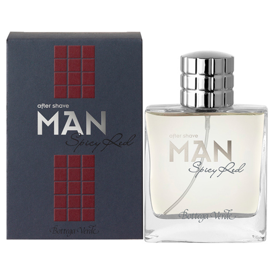 Man Spicy red - After Shave  (50 ML)