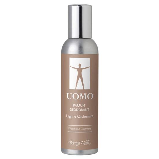 Parfum deodorant cu aroma de lemn si casmir
