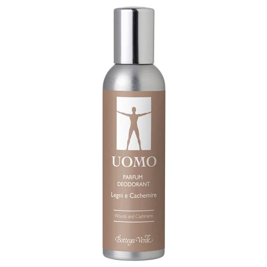 UOMO - Lemn si casmir, parfum deodorant cu extract de abanos si mahon   (100 ML)