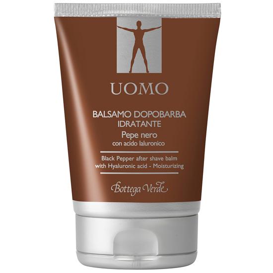 UOMO - Piper Negru balsam dupa barbierit cu Ialuron Plus - hidratant