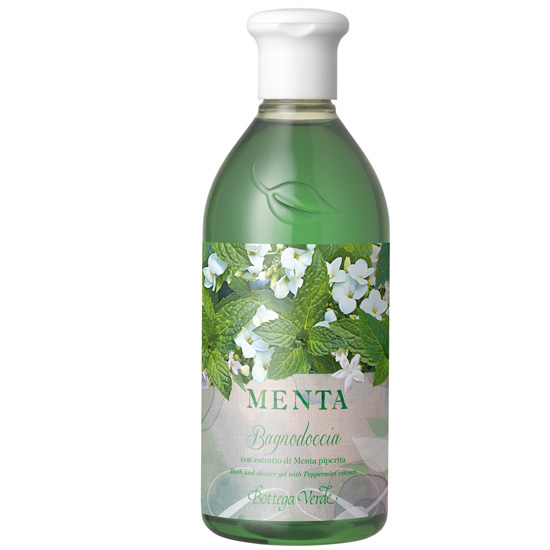 Gel de dus cu extract de menta - Menta  (400 ML)