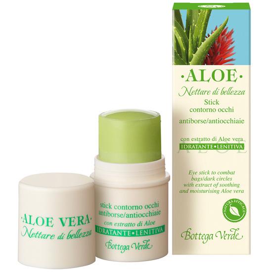 Stick pentru ochi hidratant si calmant, cu extract de Aloe Vera