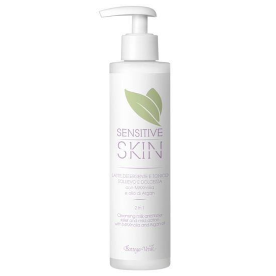 Lapte demachiant si tonic 2 in 1 cu MAXnolia si ulei de argan - Sensitive Skin  (150 ML)