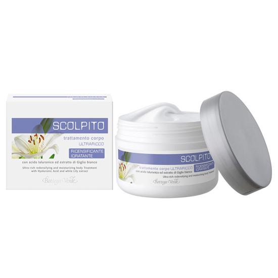 Scolpito - Tratament pentru corp cu Ialuron Plus si extract de crin alb - fermitate si hidratare  (250 ML)