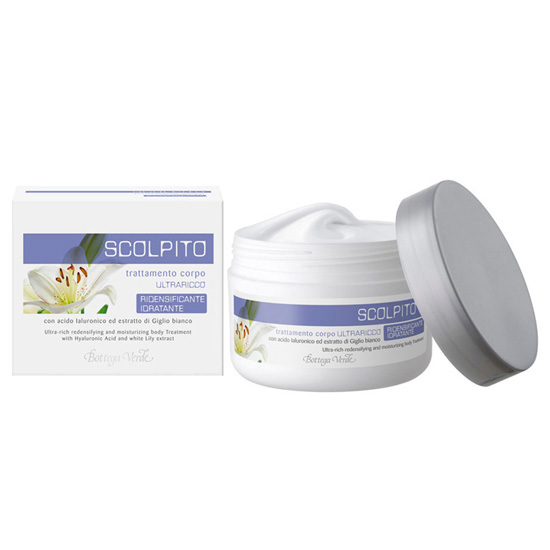 Tratament pentru corp cu acid hialuronic si extract de crin alb