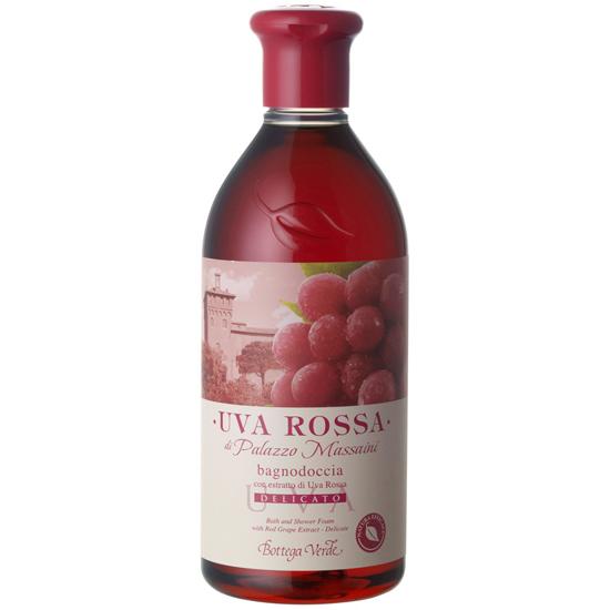 Struguri rosii - Gel de dus delicat cu extract de struguri rosii