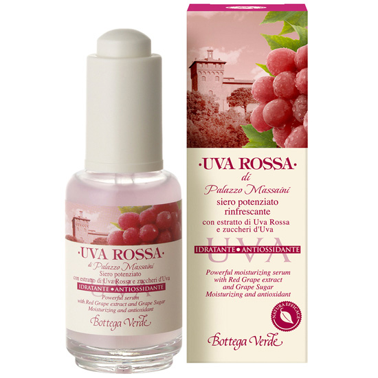 Ser antioxidant concentrat cu extract din struguri rosii si zaharuri din struguri  - Uva Rossa  (30 ML)