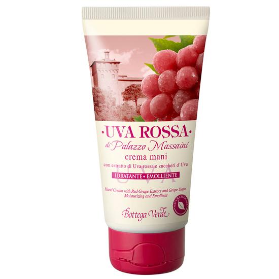 Struguri rosii - Crema de maini cu extract de struguri rosii si zaharuri din struguri - hidratare