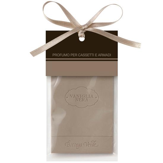 Parfum pentru sertare si dulapuri cu aroma de vanilie neagra