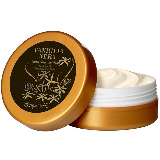 Gel De Baño Bottega Verde:Vanilie neagra – Gel de dus catifelat (400 ML) – Bottega Verde