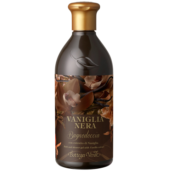 Vanilie neagra - Gel de dus cu extract de vanilie  (400 ML)
