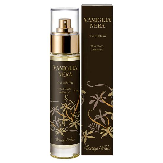 Ulei pentru corp cu aroma de vanilie neagra - Vaniglia Nera  (50 ML)