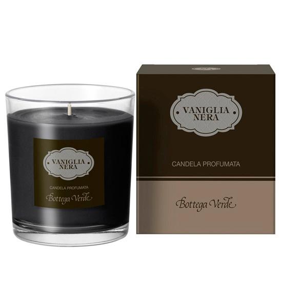 Lumanare decorativa cu aroma de vanilie neagra