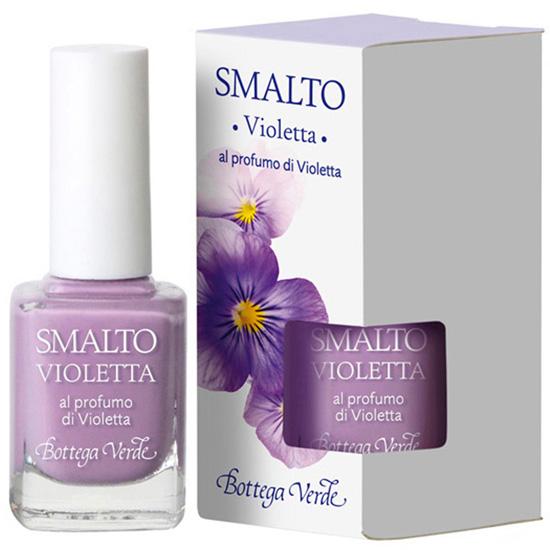 Lac de unghii parfumat cu aroma de violete, liliac - Smalto  (10 ML)