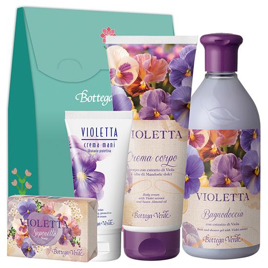 Set cadou - Ingrijire corp cu extract de violete