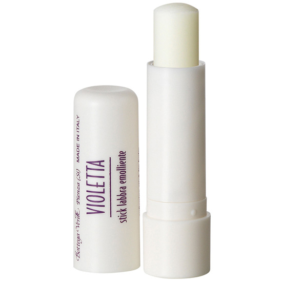 Balsam de buze emolient cu aroma de violete, incolor