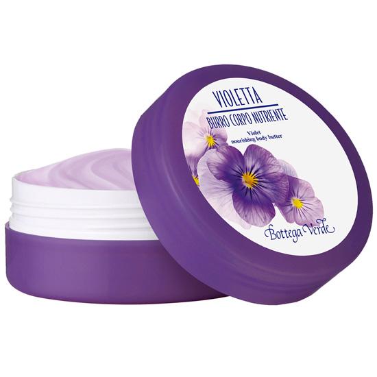 Unt de corp cu extract de violete