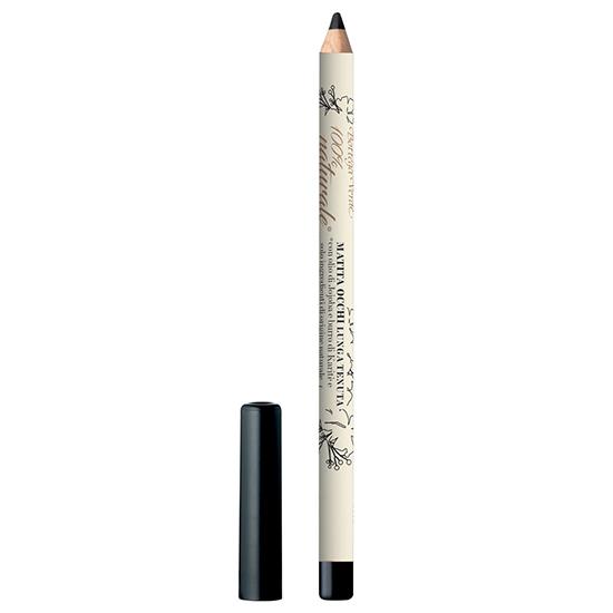 Creion de ochi, rezistent, cu ulei de Jojoba si unt de Shea, negru  - 100% natural