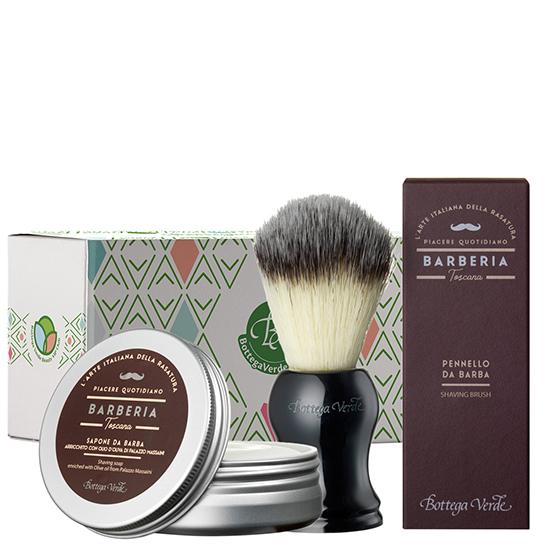 Set pentru barbierit cu ulei de masline - Barberia Toscana, 100 G