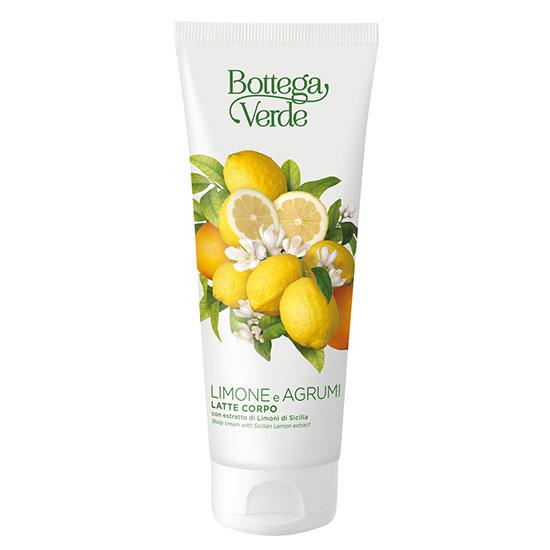 Crema de corp hidratanta, cu aroma de lamai - Limone e Agrumi, 200 ML