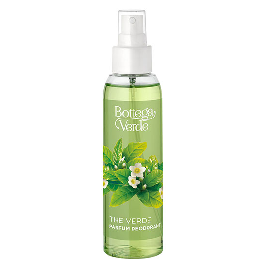 Parfum deodorant, fresh, cu extract de ceai verde - The Verde, 125 ML