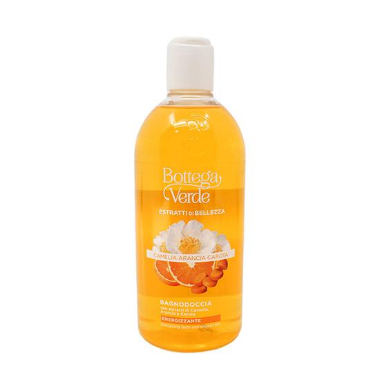 Gel de dus detox cu extract de musetel, portocale si morcov - SOL Estratti, 400 ML