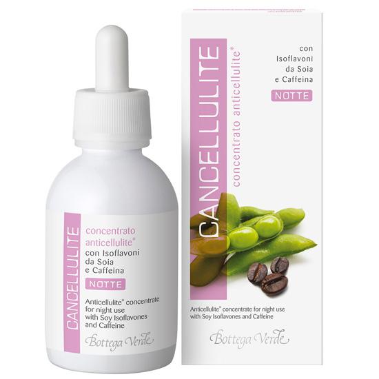 Concentrat anticelulitic cu soia si cafeina -  tratament de noapte - Cancellulite, 100 ML