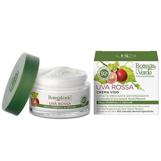 Crema de fata pentru piele normala si uscata cu extract de struguri rosii - Uva Rossa, 50 ML