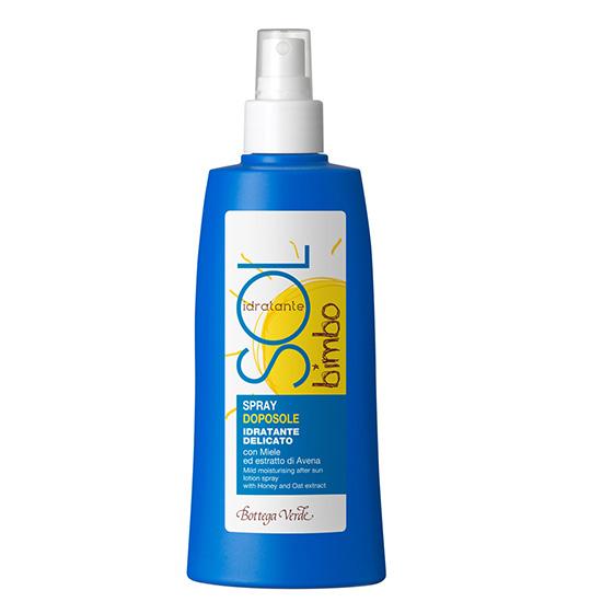 Spray hidratant pentru bebelusi, pentru calmarea pielii dupa soare - Sol Bimbo, 200 ML
