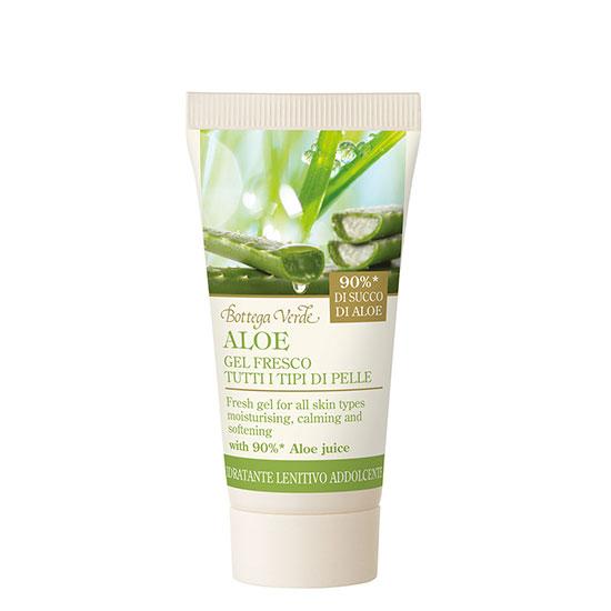 Gel racoritor, mini, pentru corp, cu 90% extract de aloe vera, editie limitata - Aloe, 30 ML