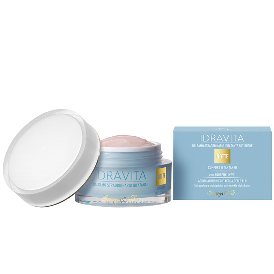 Balsam antirid cu Aquaphyline®, acid hialuronic si apa din Fiji - Idravita, 50 ML