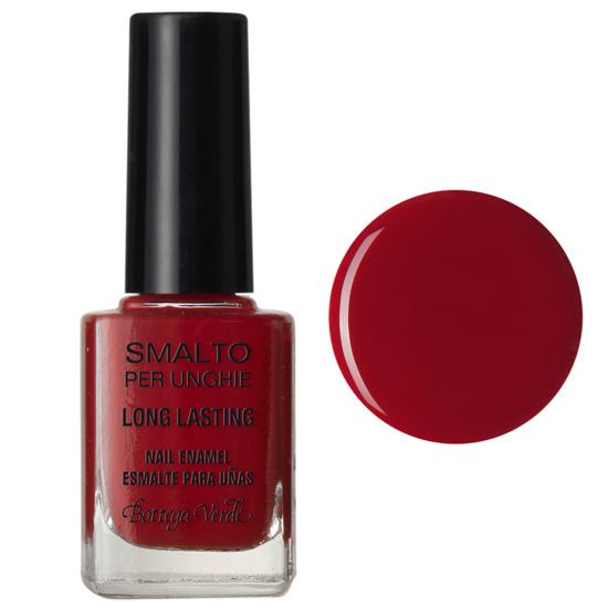 Lac de unghii stralucitor, rosu rubin - Smalto, 10 ML