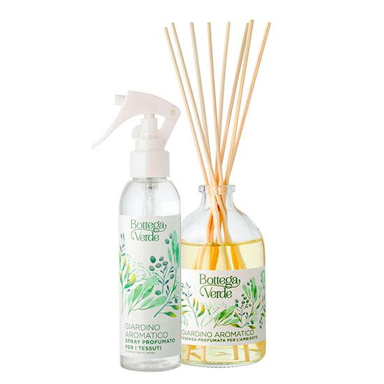 Set difuzor si spray cu aroma de flori exotice, 100 ML + 150 ML
