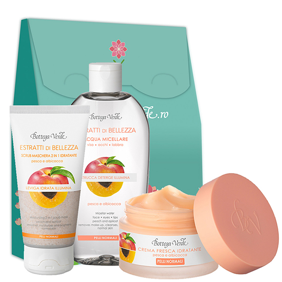 Set ingrijire ten normal - Estratti di Belleza, 50 ML + 200 ML + 75 ML