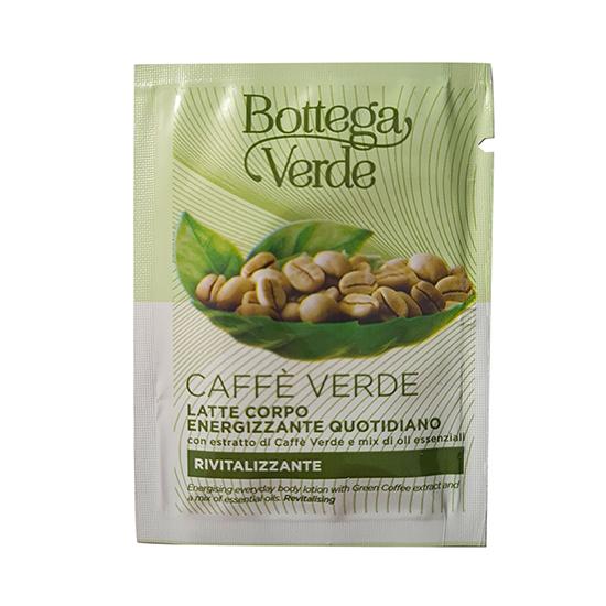 Mostra lapte de corp energizant cu extract de cafea verde si mix de uleiuri esentiale - Caffè Verde, 4 ML