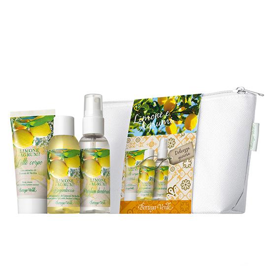 Set 3 mini produse cu aroma de lamaie si citrice - Limone e Agrumi, 50 ML, 30ML