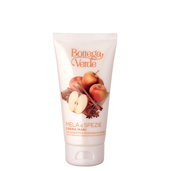 Crema de maini cu extract de mere si scortisoara - Mela e Spezie, 75 ML