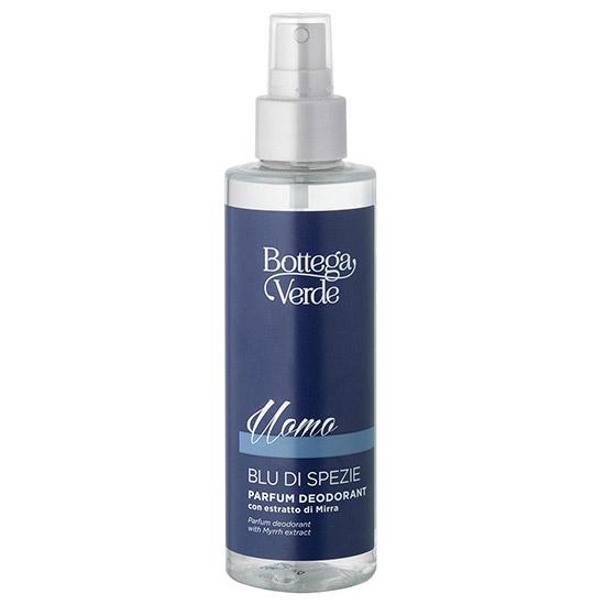 Parfum deodorant, cu aroma intensa, cu extract de smirna - Blue di Spezie, 150 ML