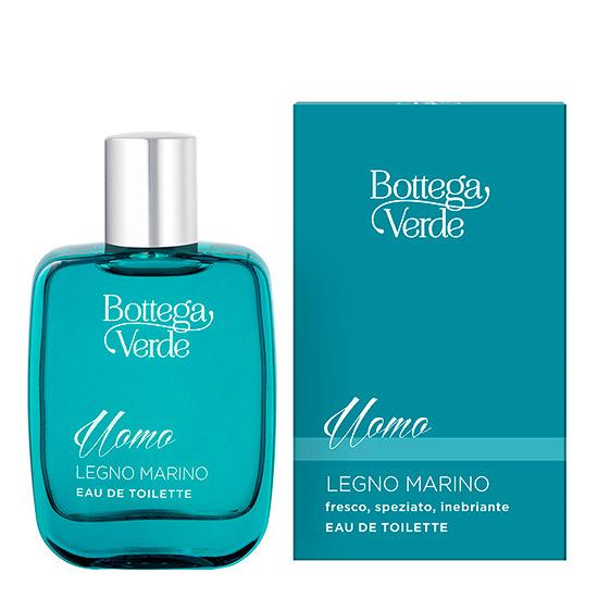 Apa de toaleta cu aroma lemnoasa - Legno Marino - Legno Marino, 50 ML