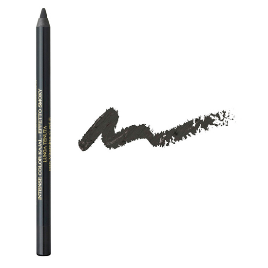 Creion de ochi cu vitamina C si E - efect smoky - rezistent  - negru onix
