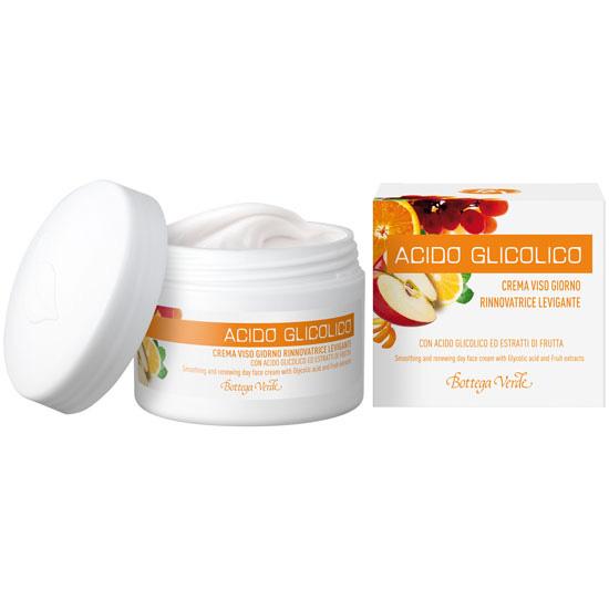 Crema de fata, de zi, pentru toate tipurile de ten, cu acid glicolic si extract de fructe - Acido Glicolico, 50 ML