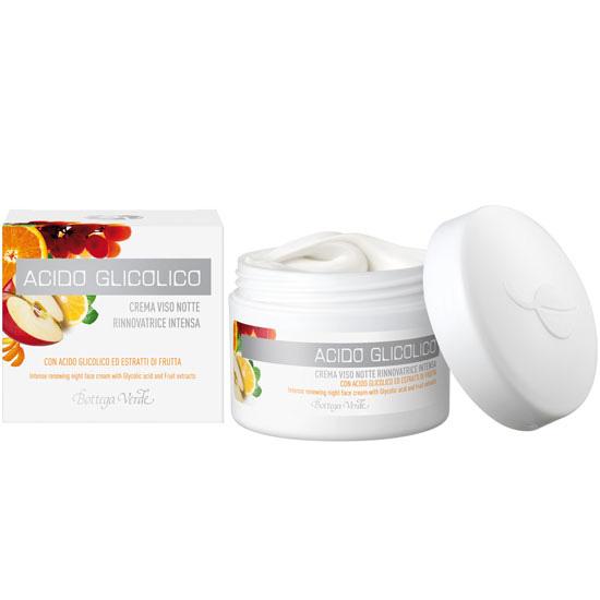 Crema de fata pentru noapte cu acid glicolic si extract de fructe - Acido Glicolico, 50 ML