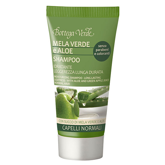 Travel size sampon cu extract de aloe si mar verde, 50 ML