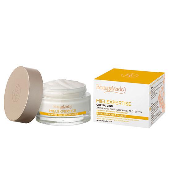 Crema antirid si antioxidanta, de zi, pentru tenul matur, cu miere si Pluridefence - Mielexpertise, 50 ML