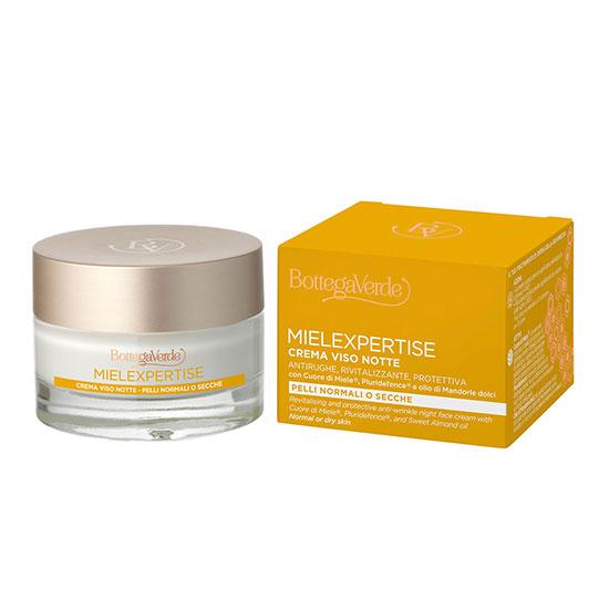 Crema antirid si antioxidanta, de noapte, cu miere si Pluridefence - MIELEXPERTISE, 50 ML