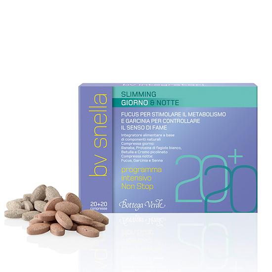 BV Snella - Supliment alimentar pentru stimularea metabolismului si controlul senzatiei de foame  - N/A (20 COMPRIMATE + 20 COMPRIMATE)