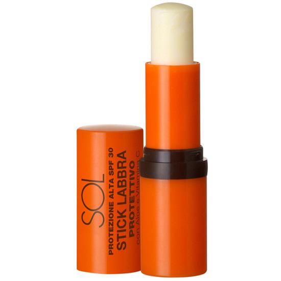 Stick protector pentru buze, cu aloe si vitamina C - waterproof - Sol, 5.5 ML