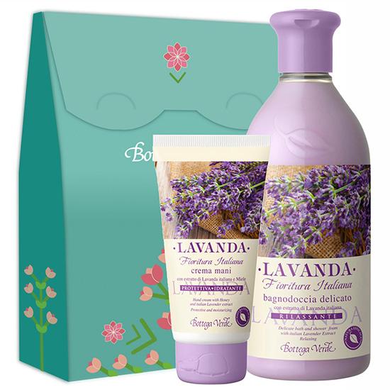 Set cadou cu aroma de lavanda - Lavanda, 400 ML + 75 ML