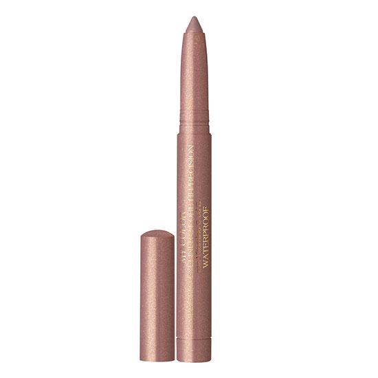 Creion de ochi waterproof, retractabil cu vitamina C si E, roz-auriu - My color