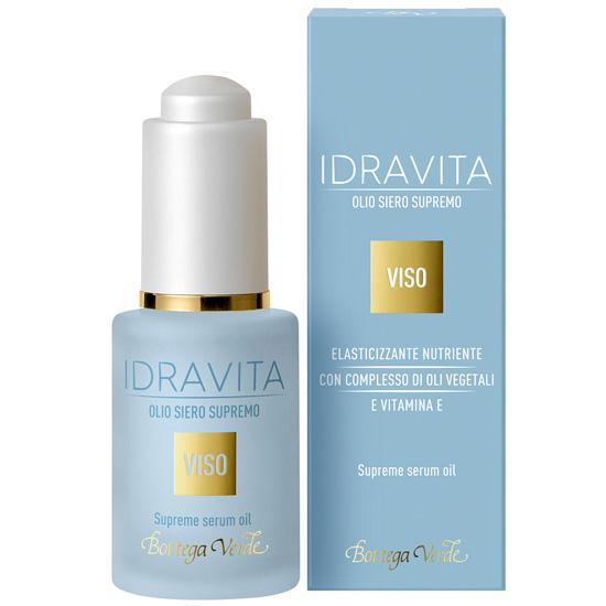 Ser elasticizant si nutritiv cu vitamina E si complex de uleiuri vegetale - Idravita, 30 ML